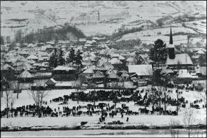 カルパチア山系 農牧の村「動物の定期市」