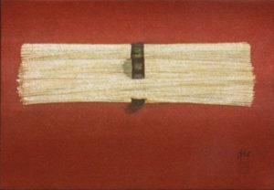 「素麺図」225x158mm 2005年10月個展