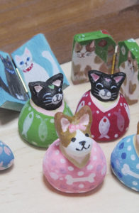 赤枝由子/銀紙帽子/猫雛